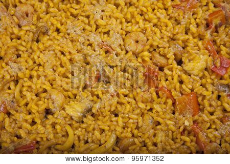Close Up Paella