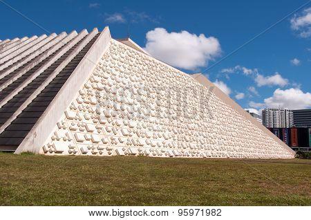 National Theater of Brazil in Brasilia