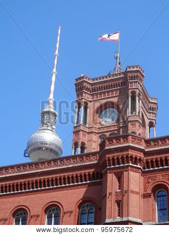 The Red Town Hall, Berlin, Germany