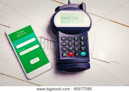 Mobile payment against online banking