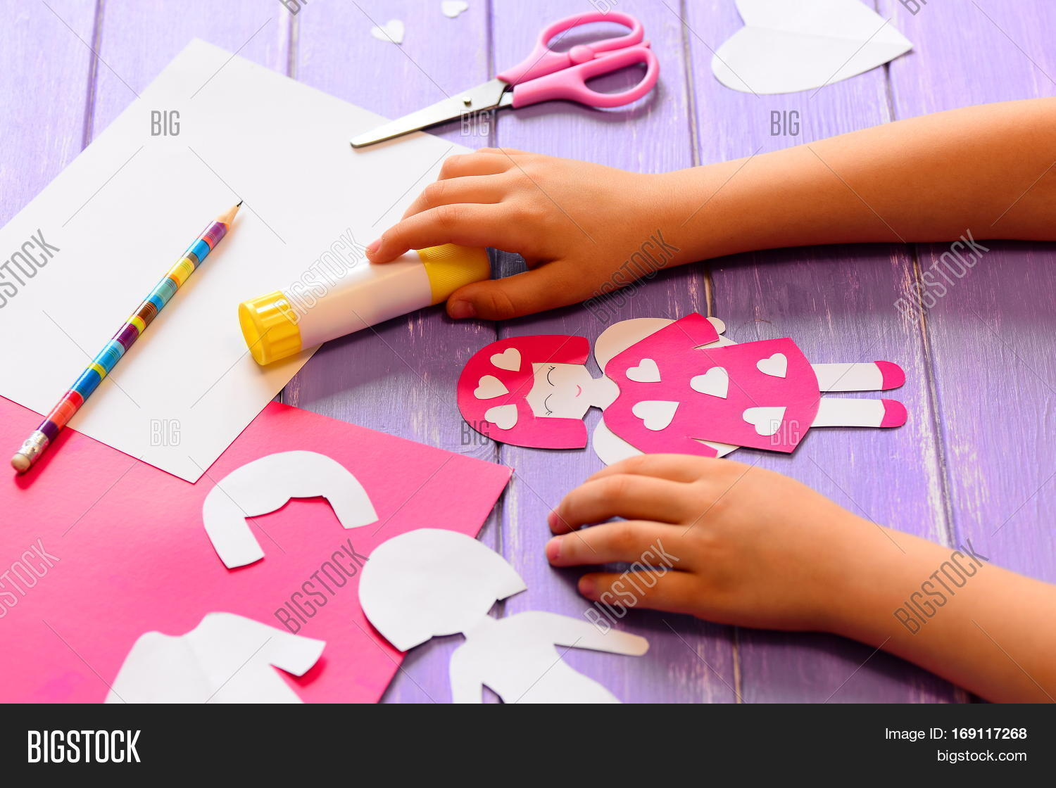 Small Child Made Angel Image Photo Free Trial Bigstock