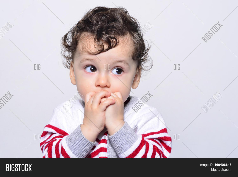portrait cute baby boy image & photo (free trial) | bigstock