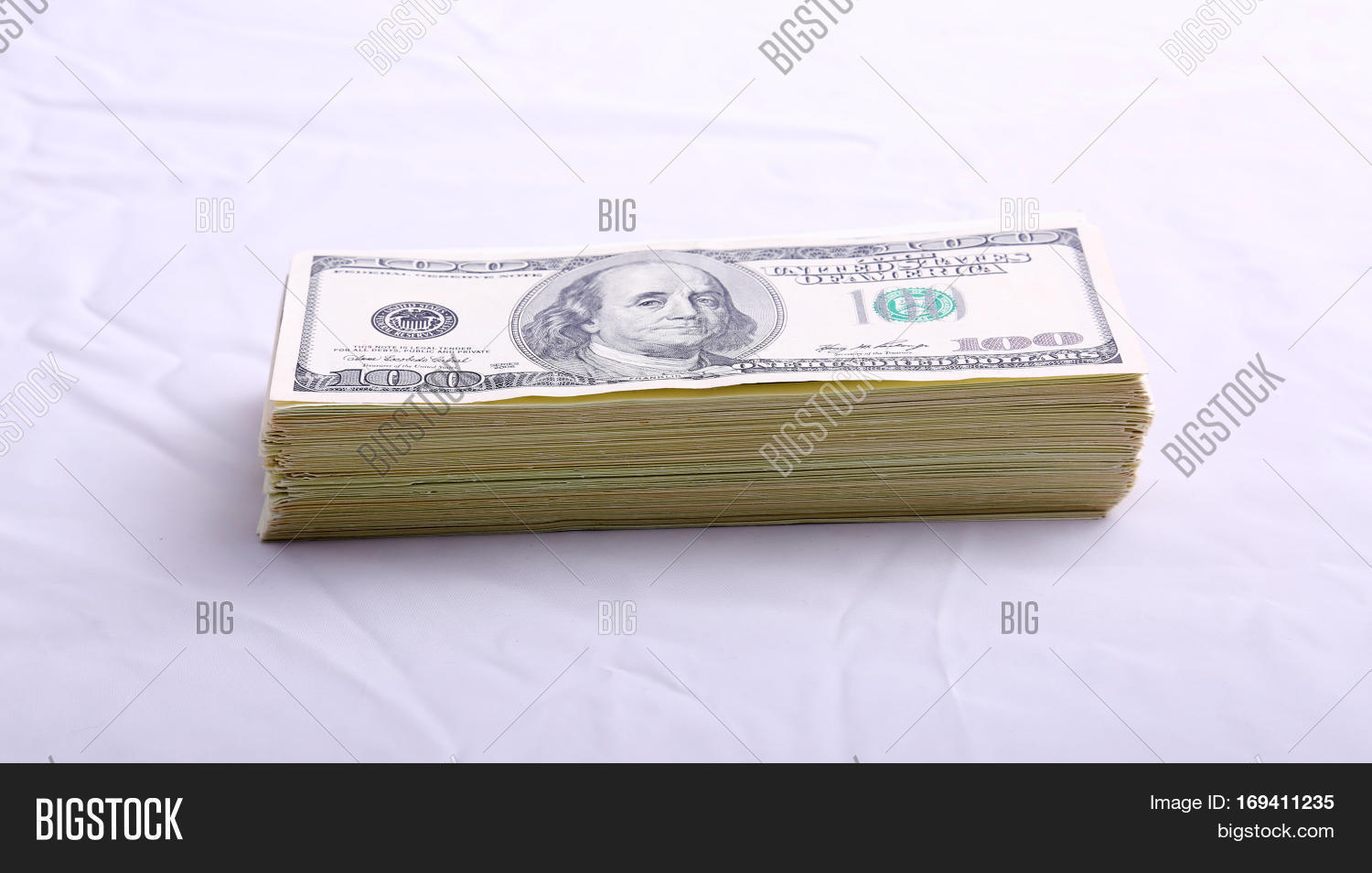 Stacks American Money Image & Photo (Free Trial) | Bigstock