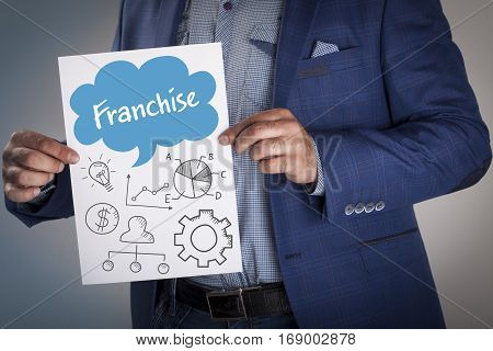 Technology, Internet, Business And Marketing. Business Analysis Concept.franchise