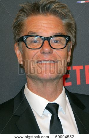 Harry Hamlin arrives at the Weinstein Company and Netflix 2017 Golden Globes After Party on Sunday, January 8, 2017 at the Beverly Hilton Hotel in Beverly Hills, CA.