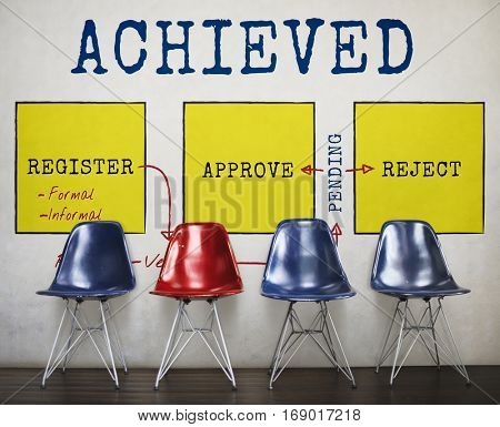 Recognized Achieved Permitted Approve Business Concept