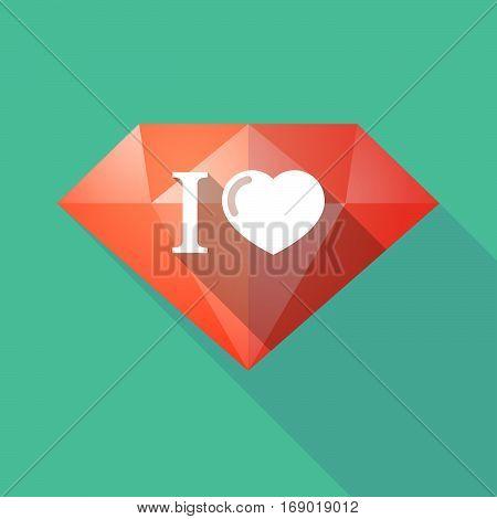 Long Shadow  Diamond With  An
