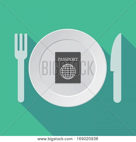 Long Shadow Tableware With  A Passport