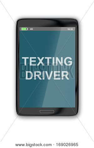 Texting Driver Concept