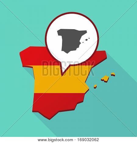 Map Of Spain With  The Map Of  Spain