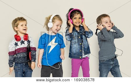 Preschool Children Boys and Girls Casual Studio Leisure