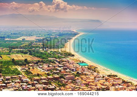 South of Italy, Calabria, heel of the italian boot