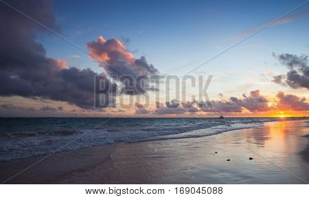 Atlantic Ocean Coast, Bavaro Beach
