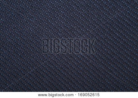 Twill Weave Fabric Pattern Texture Background Closeup