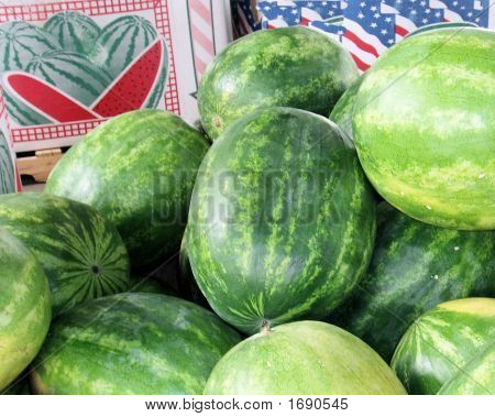 Watermelons For The Summer