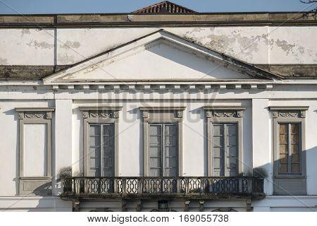 Monza (Brianza Lombardy Italy): exterior of Villa Mirabello historic palace built in 17th century