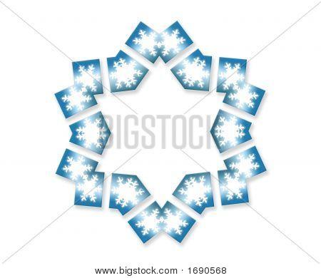 Snowflake Star Six Sided