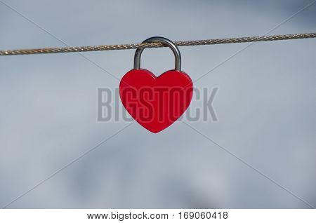 Love locks, love padlocks. Lock up your love. Heart on a lock. Love Locks to public structures.