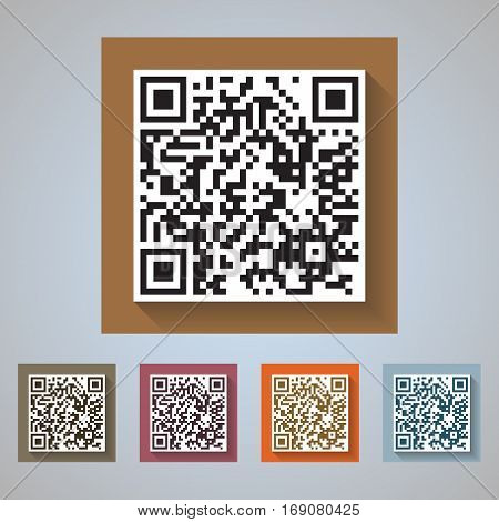 QR Code Icons - quick response codes for commercial and private use