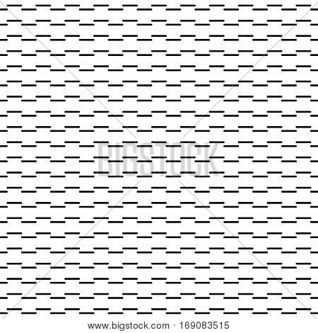 Geometric Line Monochrome Abstract Seamless Pattern