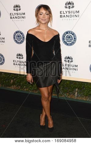 LOS ANGELES - JAN 7:  Kat Graham at the Art of Elysium 10th Annual Black Tie Heaven Gala at Red Studios on January 7, 2017 in Los Angeles, CA