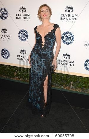 LOS ANGELES - JAN 7:  Brianna Brown at the Art of Elysium 10th Annual Black Tie Heaven Gala at Red Studios on January 7, 2017 in Los Angeles, CA