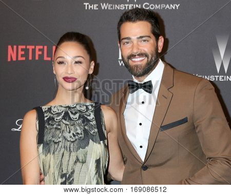LOS ANGELES - JAN 8:  Cara Santana, Jesse Metcalfe at the Weinstein And Netflix Golden Globes After Party at Beverly Hilton Hotel Adjacent on January 8, 2017 in Beverly Hills, CA