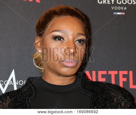 LOS ANGELES - JAN 8:  NeNe Leakes at the Weinstein And Netflix Golden Globes After Party at Beverly Hilton Hotel Adjacent on January 8, 2017 in Beverly Hills, CA