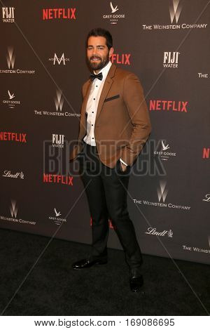 LOS ANGELES - JAN 8:  Jesse Metcalfe at the Weinstein And Netflix Golden Globes After Party at Beverly Hilton Hotel Adjacent on January 8, 2017 in Beverly Hills, CA