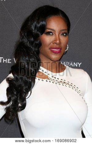 LOS ANGELES - JAN 8:  Kenya Moore at the Weinstein And Netflix Golden Globes After Party at Beverly Hilton Hotel Adjacent on January 8, 2017 in Beverly Hills, CA
