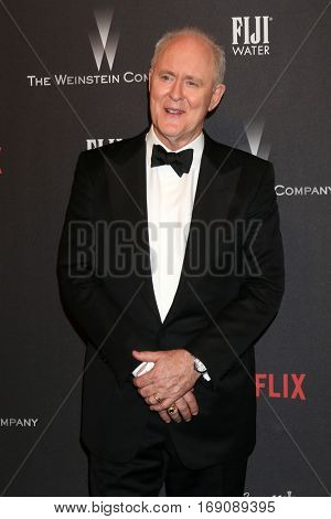 LOS ANGELES - JAN 8:  John Lithgow at the Weinstein And Netflix Golden Globes After Party at Beverly Hilton Hotel Adjacent on January 8, 2017 in Beverly Hills, CA