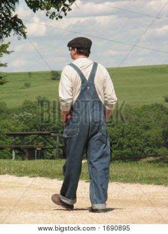 Carefree Kansas Farmer