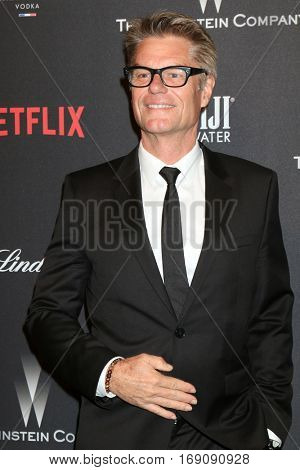 LOS ANGELES - JAN 8:  Harry Hamlin at the Weinstein And Netflix Golden Globes After Party at Beverly Hilton Hotel Adjacent on January 8, 2017 in Beverly Hills, CA