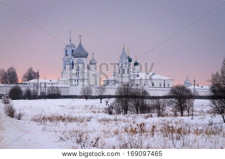 Nikitsky monastery is among the most ancient monasteries of Russia. The monastery is located near the town of Pereslavl-Zalessky, Yaroslavl oblast.