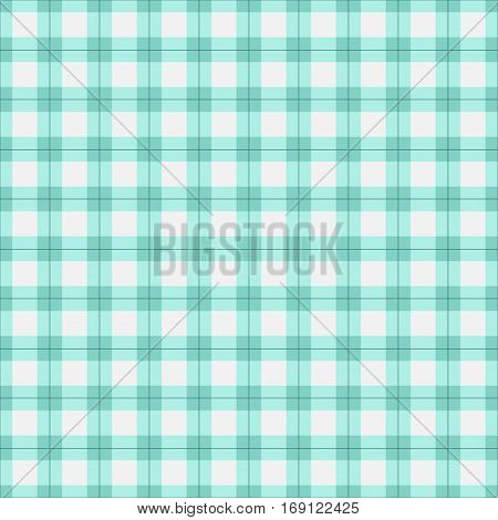 Seamless tartan plaid pattern. Checkered fabric texture print in in pastel tones.