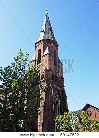 Vor Frue Kirke in Aarhus in Denmark