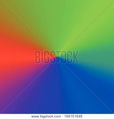 Circular Multicolor Element - Color Wheel, Color Palette With Unique Color Combination