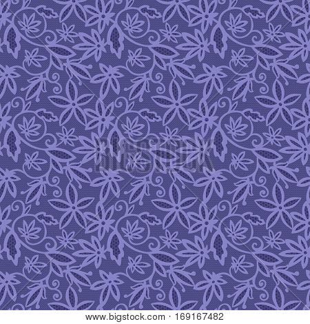 Floral mehendi pattern ornament. Vector illustration mehendi pattern in asian textile style india tribal ornate. Ethnic purple ornamental lace vintage mehendi pattern mandala abstract textile