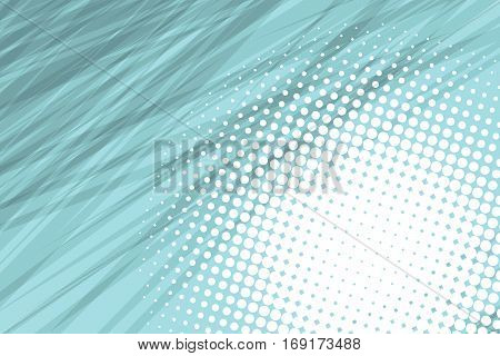 gray side hatch algae with halftone effect. Vintage pop art retro vector illustration