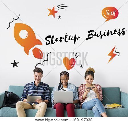 Startup Business Progress Strategy Enterprise