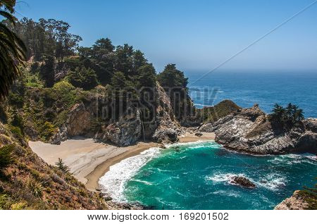 McWay Falls, Big Sur in California, USA