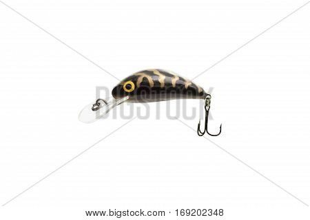 Many Feeders For Fishing On A White Background