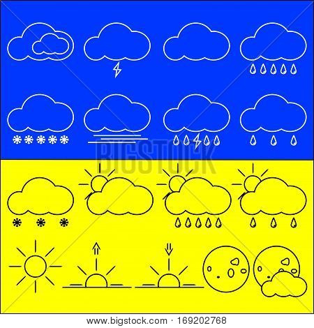 The original weather icons. Good quality and tasteful
