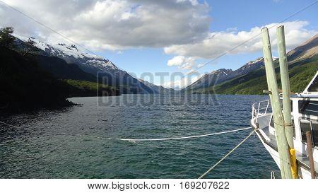 Lago del Desierto, El Chalten. Patagonia Argentina