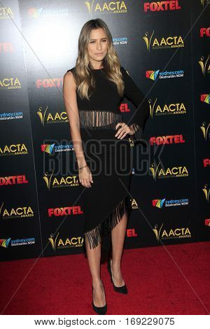 LOS ANGELES - JAN 6:  Renee Bargh at the 6th AACTA International Awards at 229 Images on January 6, 2017 in Los Angeles, CA