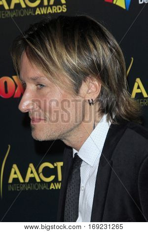 LOS ANGELES - JAN 6:  Keith Urban at the 6th AACTA International Awards at 229 Images on January 6, 2017 in Los Angeles, CA