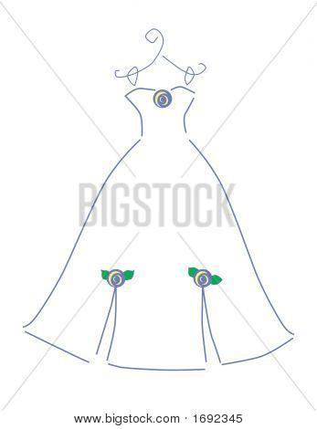 Weddingdress-paars