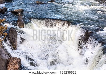 Great falls waterfall in Virginia and Maryland