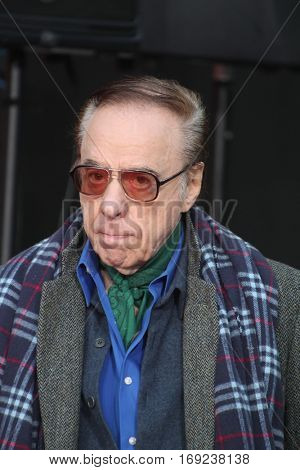 LOS ANGELES - JAN 6:  Peter Bogdanovich at the Jeff Bridges Hand and Foot Print Ceremony at TCL Chinese Theater IMAX on January 6, 2017 in Los Angeles, CA