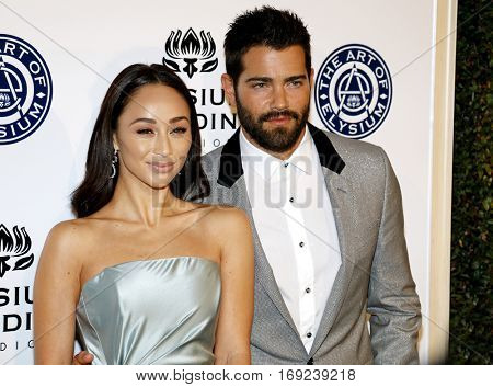Cara Santana and Jesse Metcalfe at the Art of Elysium Celebrating the 10th Anniversary held at the Red Studios in Los Angeles, USA on January 7, 2017.